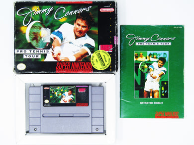 Jimmy Connors Pro Tennis Tour (Super Nintendo / SNES)