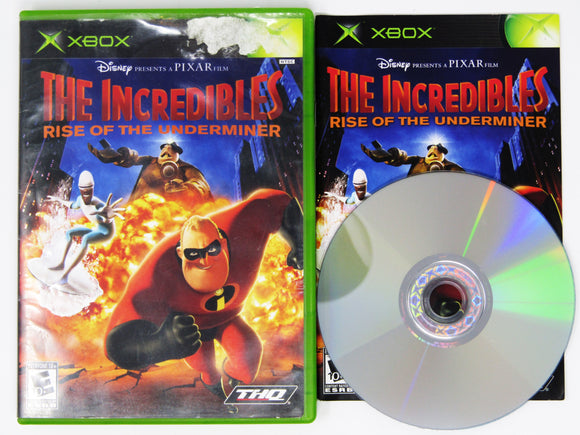 The Incredibles Rise of the Underminer (Xbox)