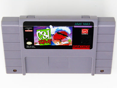 Cool Spot (Super Nintendo / SNES)