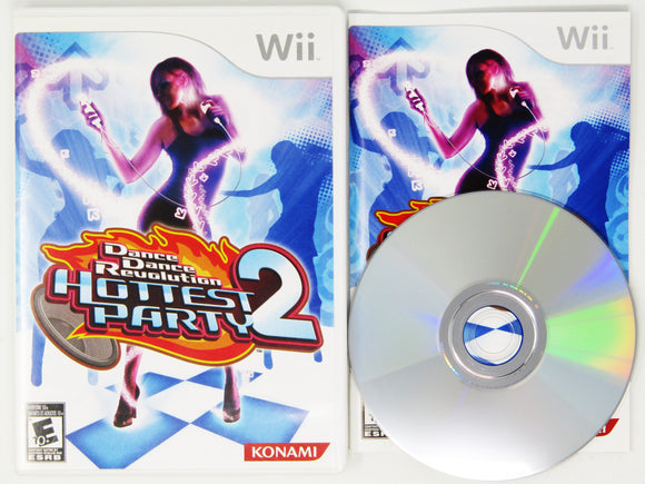 Dance Dance Revolution: Hottest Party 2 (Game only) (Wii)