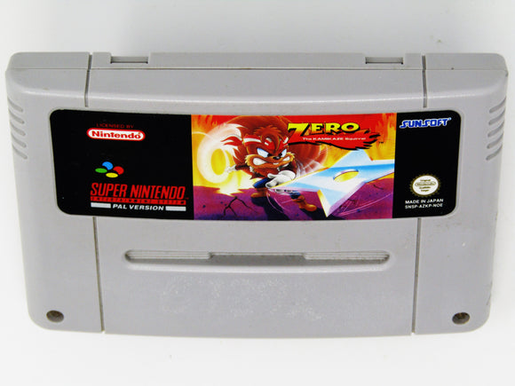 Zero the Kamikaze Squirrel (PAL) (Super Nintendo / SNES)