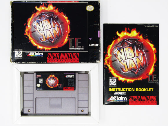 NBA Jam Tournament Edition (Super Nintendo / SNES)