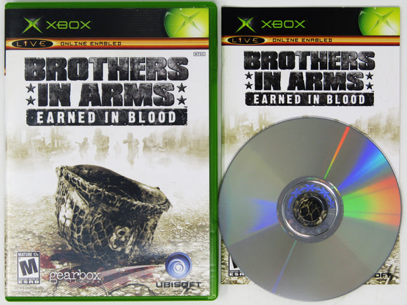Brothers in Arms Earned in Blood (Xbox)
