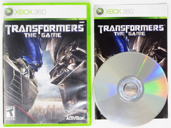 Transformers the Game (Xbox 360)