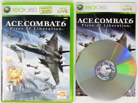Ace Combat fire Of Liberation (Xbox 360)