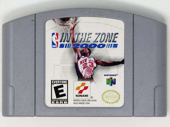 NBA In The Zone 2000 (Nintendo 64)
