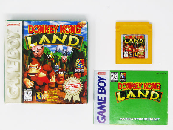 Donkey Kong Land [Player's Choice] (Game Boy)
