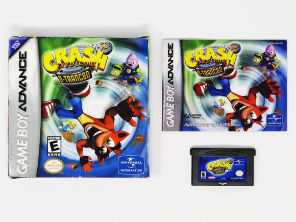 Crash Bandicoot 2 N-tranced (Game Boy Advance / GBA)
