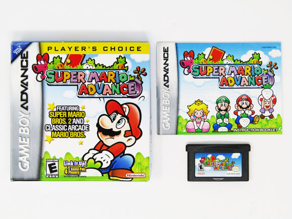 Super Mario Advance [Player's Choice] (Game Boy Advance / GBA)