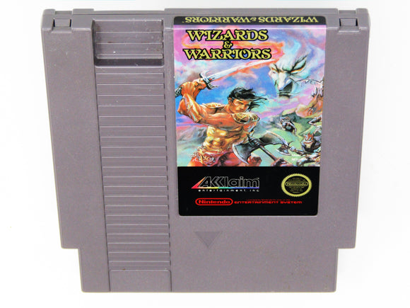 Wizards and Warriors (Nintendo / NES)