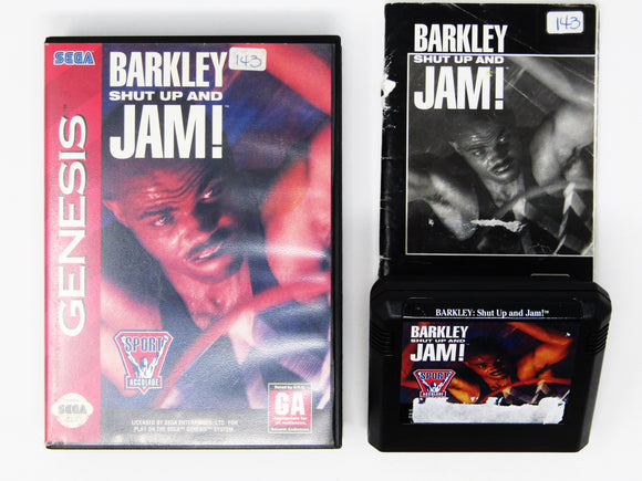 Barkley Shut Up and Jam (Genesis)