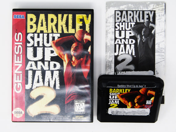 Barkley Shut Up and Jam 2 (Genesis)