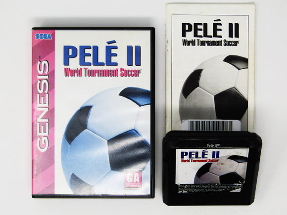 Pele II: World Tournament Soccer (Genesis)