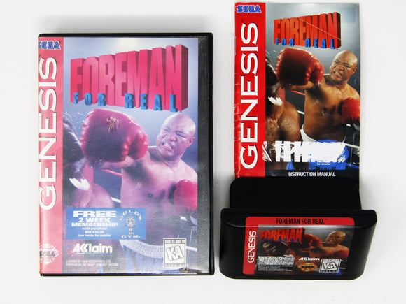 Foreman For Real (Genesis)