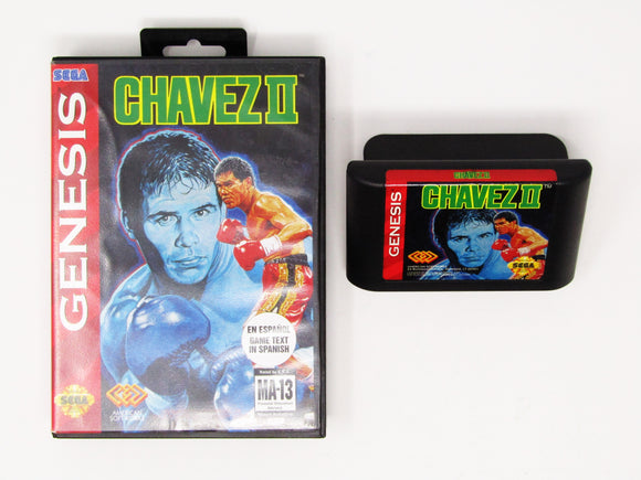 Chavez Boxing II (Spanish Version) (Genesis)