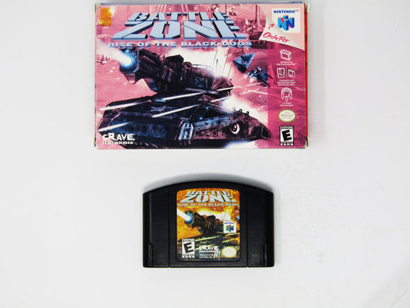 Battlezone: Rise Of The Black Dogs (Nintendo 64 / N64)
