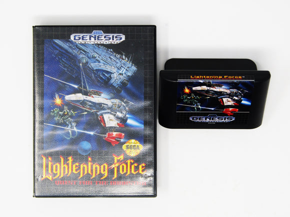 Lightening Force Quest for the Darkstar (Genesis)