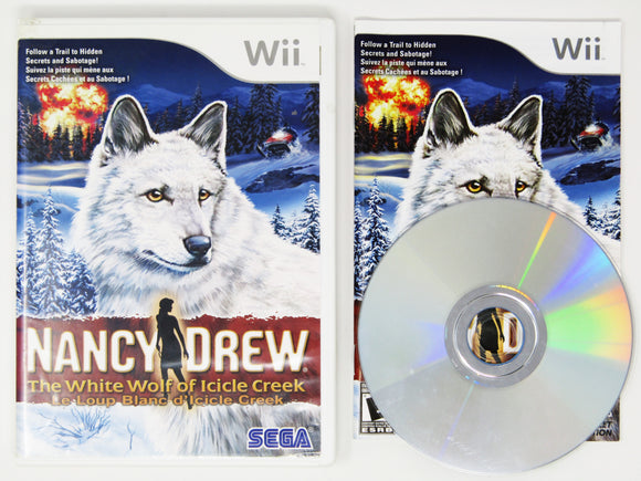Nancy Drew The White Wolf Of Icicle Creek (Nintendo Wii)