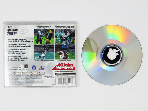 NFL QB Club 2001 (Dreamcast)