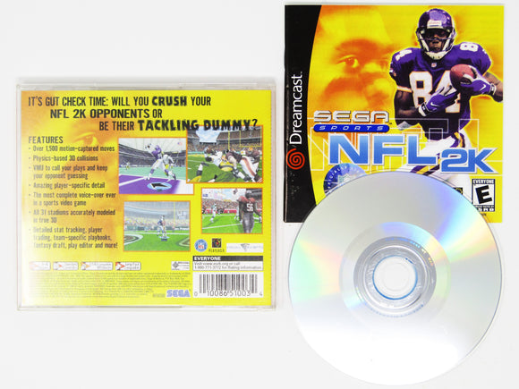 NFL 2K [Sega All Stars] (Dreamcast)