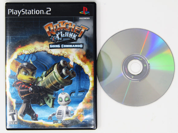 Ratchet and Clank Going Commando (Playstation 2 / PS2)