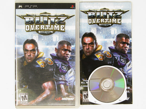 Blitz Overtime (Playstation Portable / PSP)