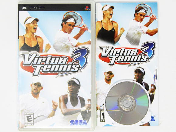 Virtua Tennis 3 (Playstation Portable / PSP)