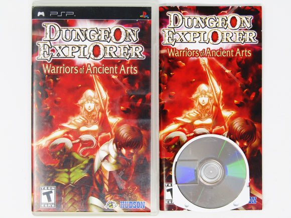 Dungeon Explorer Warriors Of Ancient Arts (Playstation Portable / PSP)