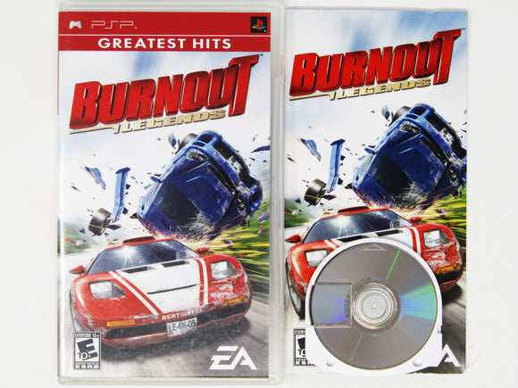 Burnout Legends [Greatest Hits] (Playstation Portable / PSP)