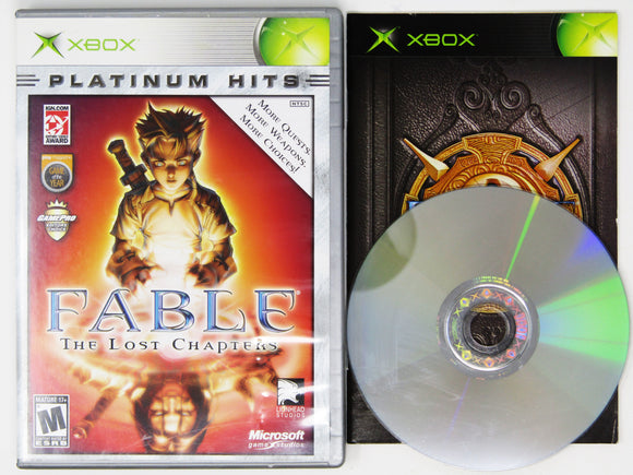 Fable The Lost Chapters [Platinum Hits] (Xbox)