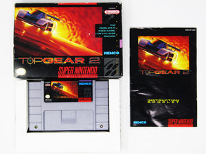 Top Gear 2 (Super Nintendo / SNES)