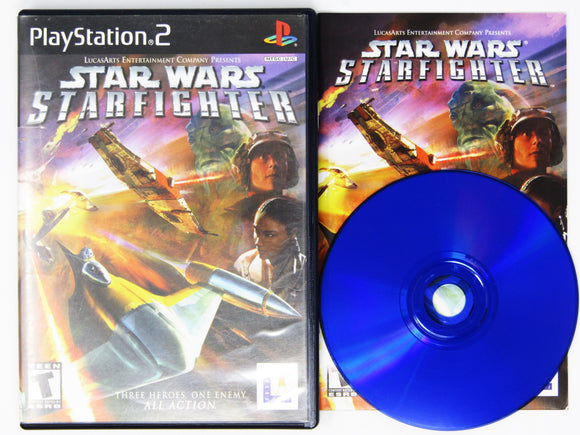 Star Wars Starfighter (Playstation 2 / PS2)