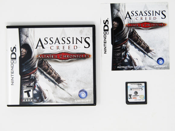 Assassins Creed Altair's Chronicles (Nintendo DS)