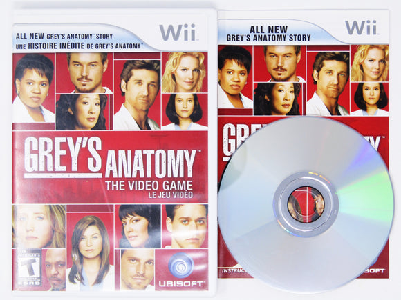 Grey's Anatomy The Video Game (Wii)