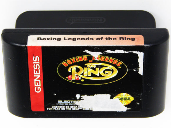 Boxing Legends Of The Ring (Genesis)