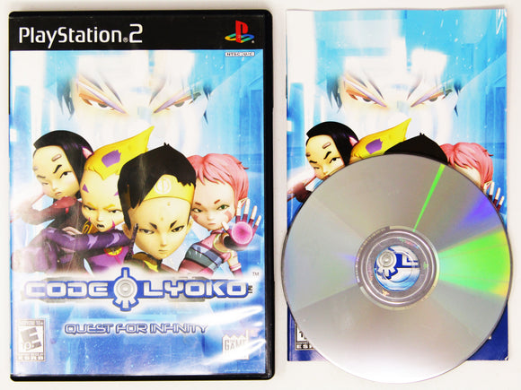 Code Lyoko Quest For Infinity (Playstation 2 / PS2)