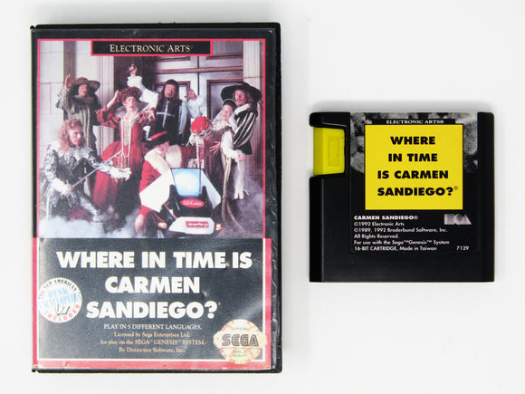 Where In Time Is Carmen Sandiego (Genesis)
