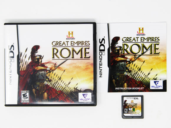 History's Great Empires: Rome (Nintendo DS)