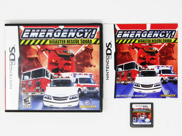 Emergency! Disaster Rescue Squad (Nintendo DS)