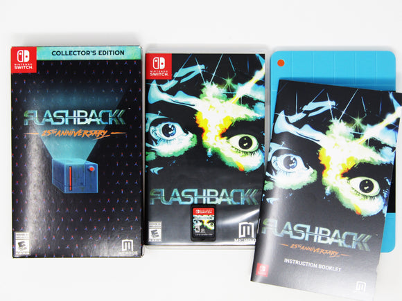 Flashback 25th Anniversary [Collector's Edition] (Nintendo Switch)