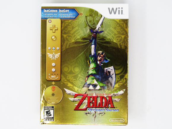 Zelda Skyward Sword [Controller Bundle] (Wii)