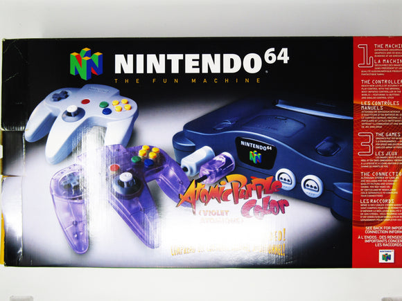 Nintendo 64 System + 2 Controllers
