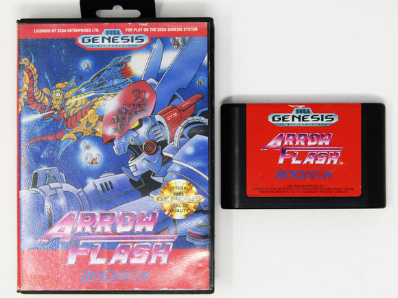 Arrow Flash (Sega Genesis)