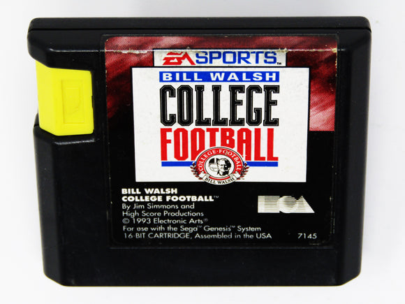 Bill Walsh College Football (Sega Genesis)