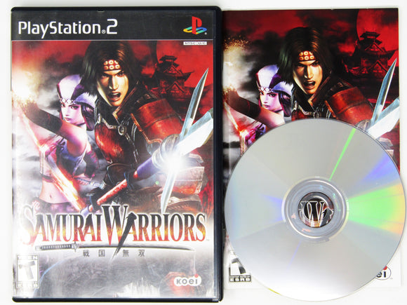 Samurai Warriors (Playstation 2 / PS2)