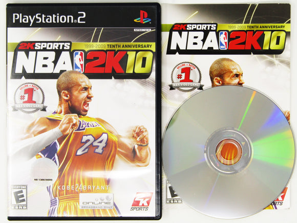NBA 2K10 (Playstation 2 / PS2)