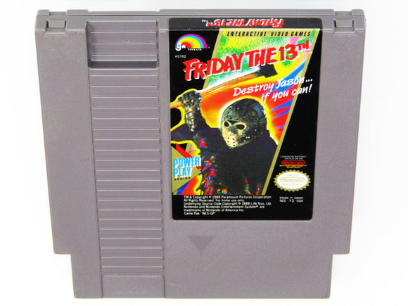 Friday the 13th (Nintendo / NES)