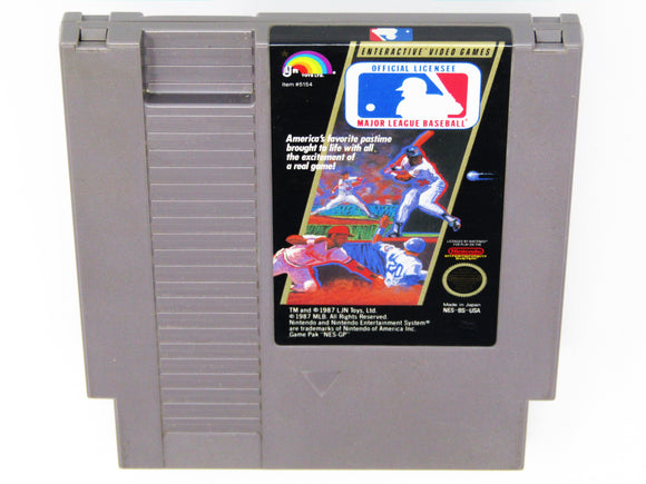 Major League Baseball (Nintendo / NES)