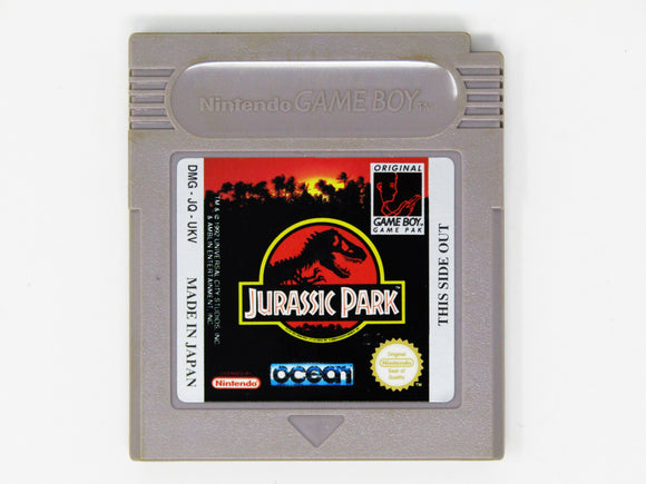 Jurassic Park (PAL) (Game Boy)