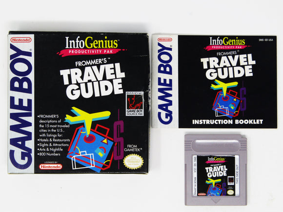 Frommer's Travel Guide (Game Boy)